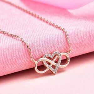Infinity Heart Necklace Necklaces Products under $30