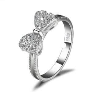 Bow knot Anniversary Cubic Zirconia Ring Rings Products under $30 2ced06a52b7c24e002d45d: 6|7|8|9