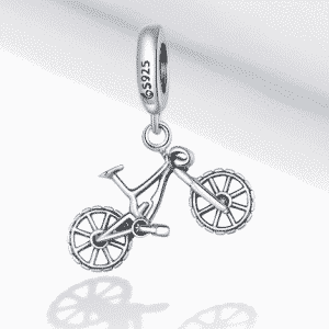Mountain Bike Dazzling Beads Charm Charms Products under $30 Brand Name: bamoer