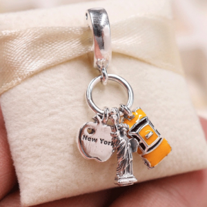 New York Highlights Dangle Charm Jewelry Charms Item Type: Beads