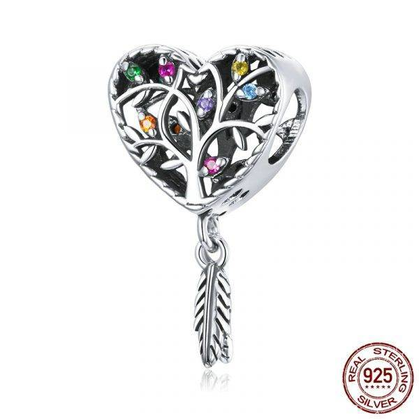 Colorful Tree of Life Charm