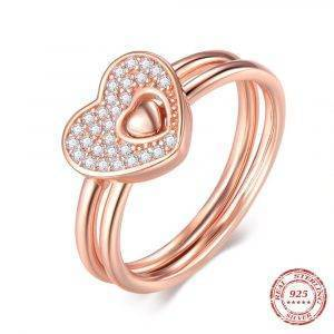 Hearts Ring Rose Gold Jewelry Rings 2ced06a52b7c24e002d45d: 6|7|8|9