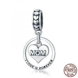 I Love u Forever Mom – Mother's Day Gift Charms Love 8703dcb1fe25ce56b571b2: SCC392|SCC649