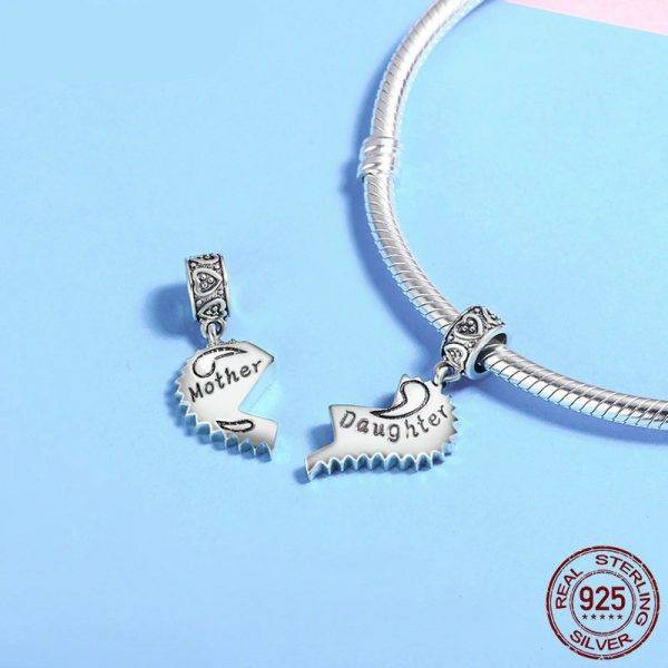 Mother and Daughter Love Forever Pendant Charms Charms Love