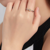 Shiny Flower Adjustable Ring Jewelry Rings