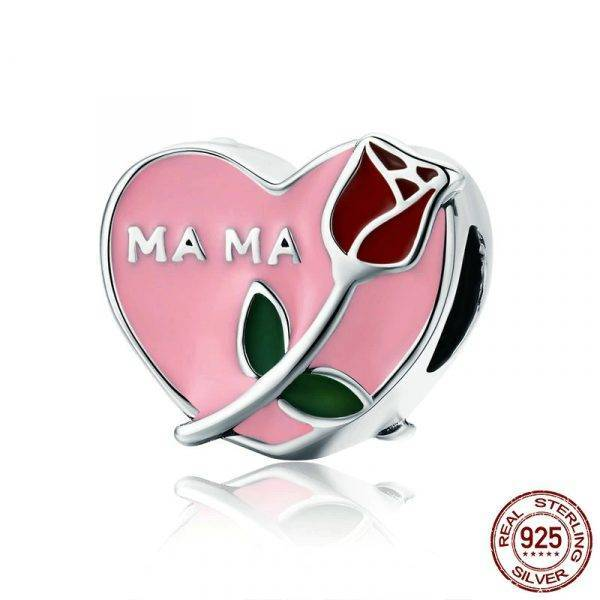 Mama Mother in Heart Rose