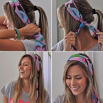 Scarf as a Fashion Accessory for Styling Everyday - In the hair